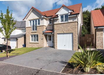 Thumbnail 4 bed detached house for sale in Easter Langside Drive, Dalkeith, Midlothian