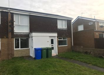 Thumbnail 2 bed flat to rent in Holystone, Blyth