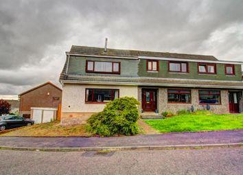 Thumbnail 4 bed semi-detached house for sale in Oakbank Avenue, East Calder, Livingston