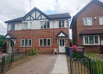 Thumbnail 3 bed semi-detached house to rent in 42 Yew Street, Salford, Greater Manchester