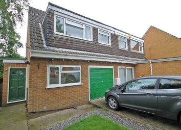 Thumbnail 3 bed semi-detached house for sale in William Close, Gedling, Nottingham