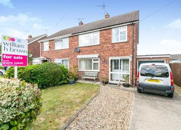 Thumbnail 3 bedroom semi-detached house for sale in Lambourne Road, Ipswich