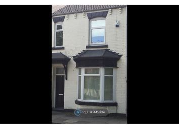 Thumbnail 5 bed terraced house to rent in Victoria Road, Thornaby