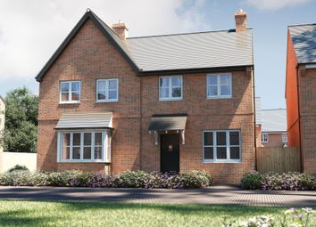 "Thumbnail 3 bed semi-detached house for sale in ""The Studland"" at Stocks Lane, Winslow, Buckingham"