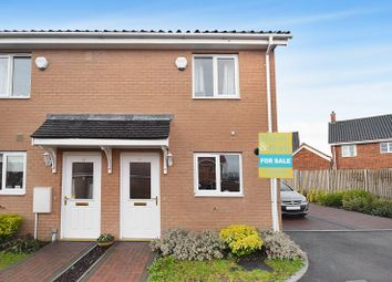 Thumbnail 2 bed semi-detached house for sale in Ponsonby Way, Poringland, Norwich
