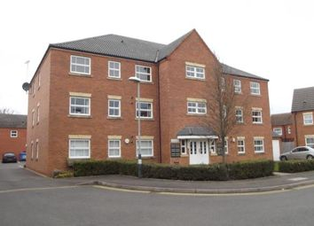Thumbnail 2 bed flat for sale in Clarkson Close, Nuneaton, Warwickshire