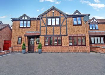 Thumbnail 6 bed detached house for sale in Craster Drive, Arnold, Nottingham
