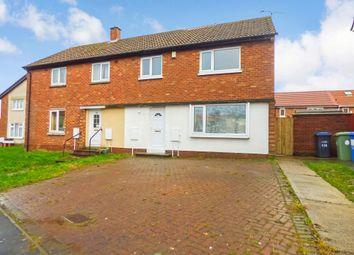 Thumbnail 3 bedroom semi-detached house to rent in Basingstoke Road, Peterlee
