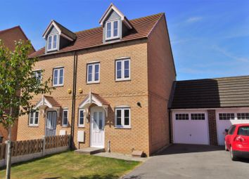 Thumbnail 3 bed semi-detached house for sale in Long Meadows, Bramley, Rotherham