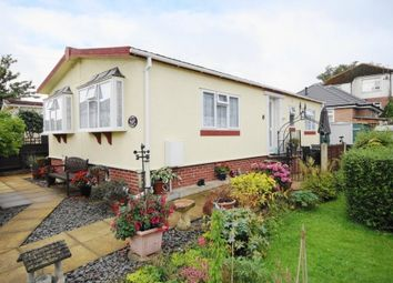 Thumbnail 2 bed mobile/park home for sale in Doveshill Park, Barnes Road, Bournemouth, Dorset