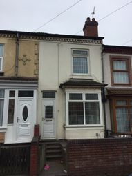 Thumbnail 1 bed terraced house to rent in Ronald Road, Birmingham