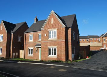 Thumbnail 4 bed detached house for sale in Smalley Farm Close, Ilkeston