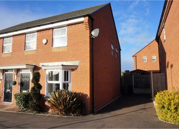 Thumbnail 3 bedroom semi-detached house for sale in Holloway Street, Gornal