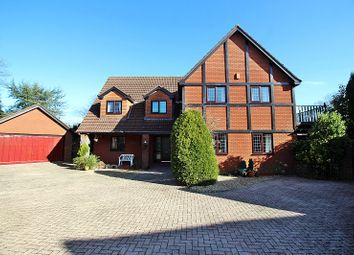 Thumbnail 5 bed detached house for sale in The Paddocks, Groesfaen, Pontyclun, Rhondda, Cynon, Taff.