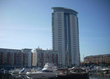 Thumbnail 2 bedroom flat for sale in Meridian Tower, Trawler Road, Swansea