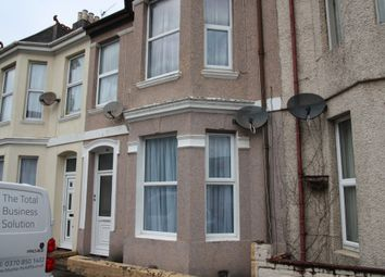 Thumbnail 1 bedroom flat to rent in St Leonards Road, Plymouth