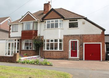 Thumbnail 4 bed semi-detached house for sale in Moseley Road, Kenilworth