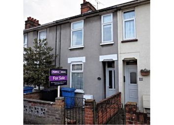 Thumbnail 3 bed terraced house for sale in Bramford Lane, Ipswich