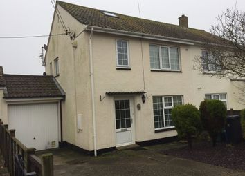 Thumbnail 3 bed semi-detached house to rent in Elizabeth Road, Seaton