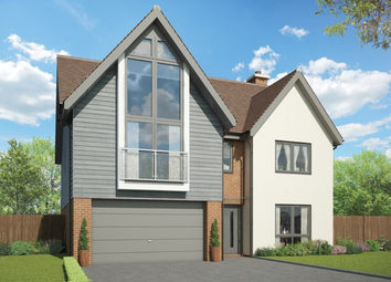 Thumbnail 5 bed detached house for sale in Cupernham Lane, Romsey Hampshire