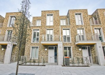 Thumbnail 3 bed town house to rent in Royal Wharf, London, London