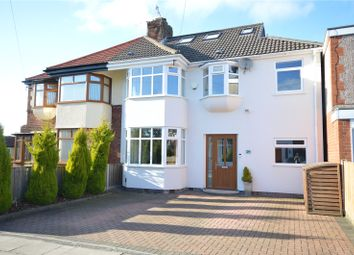 Thumbnail 4 bed semi-detached house for sale in Chalfont Road, Allerton, Liverpool