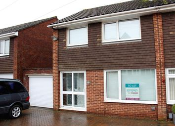 Thumbnail 3 bed semi-detached house to rent in Pynne Road, Stockwood, Bristol