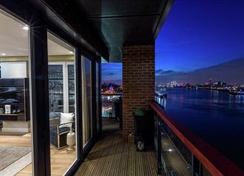 Thumbnail 3 bed flat for sale in Waterfront III, Woolwich, London