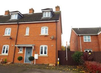 Thumbnail 3 bed town house to rent in Mallard Court, Oakham, Rutland