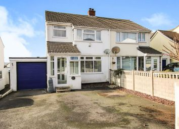 Thumbnail 3 bed semi-detached house for sale in St Marys Road, Bodmin