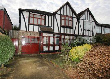 Thumbnail 4 bed semi-detached house for sale in Hillersdon Avenue, Edgware, Greater London.