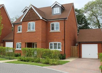 Thumbnail 5 bed detached house for sale in The Croft, Ash Green