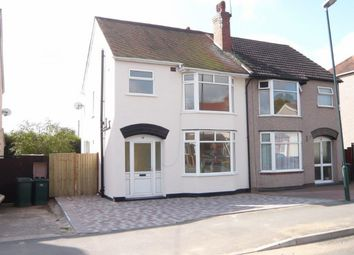 Thumbnail 3 bedroom semi-detached house for sale in Fir Tree Avenue, Coventry
