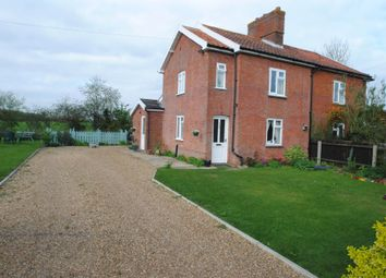 Thumbnail 2 bed semi-detached house to rent in School Lane, Thorpe Abbotts, Diss