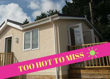 Thumbnail 1 bed mobile/park home for sale in Trelowth, St Austell Cornwall