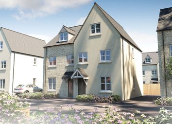 "Thumbnail 3 bed semi-detached house for sale in ""The Holnicote"" at Kingfisher Road, Bourton-On-The-Water, Cheltenham"