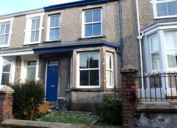 Thumbnail 3 bed terraced house to rent in Daniell Road, Truro, Cornwall