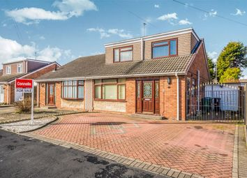 Thumbnail 3 bed semi-detached bungalow for sale in Wigginsmill Road, Wednesbury