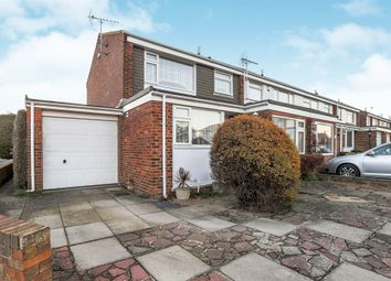 Thumbnail 4 bed end terrace house for sale in Benbow Avenue, Eastbourne