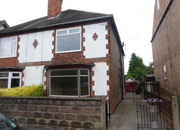 Thumbnail 3 bedroom semi-detached house to rent in Station Road, Nottingham