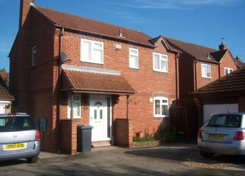 Thumbnail 4 bed detached house to rent in Old Hall Road, Skellow, Doncaster