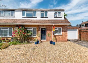 Thumbnail 4 bed semi-detached house for sale in Fleet, Hampshire