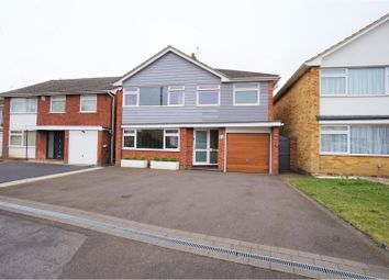 Thumbnail 4 bed detached house for sale in Heath Farm Road, Ferndown