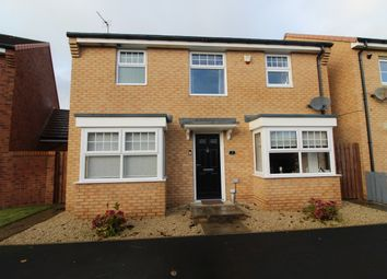 Thumbnail 4 bed detached house for sale in Tarset Walk, Blyth
