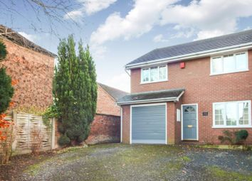 Thumbnail 3 bed semi-detached house to rent in Welsh Row, Nantwich