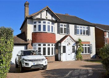 Thumbnail 4 bed detached house for sale in Belmont Rise, Belmont, Sutton