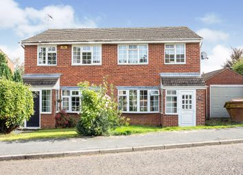 Thumbnail 3 bedroom semi-detached house for sale in Hare Close, Buckingham
