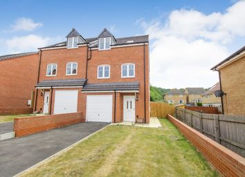 Thumbnail 4 bed semi-detached house for sale in Healdfield Court, Castleford