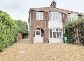 Thumbnail 3 bedroom semi-detached house to rent in St. Williams Way, Thorpe St. Andrew, Norwich