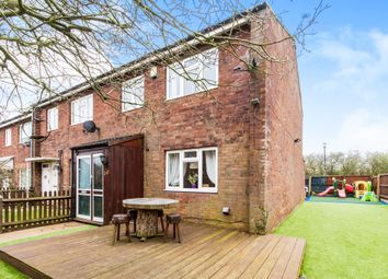 Thumbnail 3 bed end terrace house for sale in Larch Close, Grantham